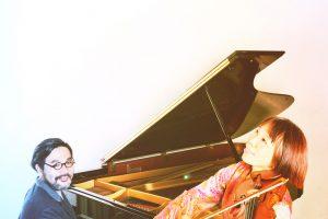 国内外で活躍するヴァイオリニスト&ピアニスト・デュオ「金子飛鳥&林正樹」が、7/22(土)一発録りアルバム『Delicia』をリリース!