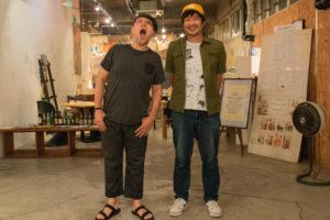 左:奈部川光義(ATATA) 右:タイラダイスケ(FREE THROW)