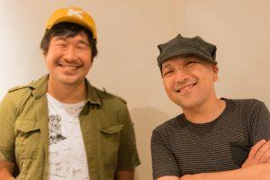 左:タイラダイスケ(FREE THROW) 右:奈部川光義(ATATA)