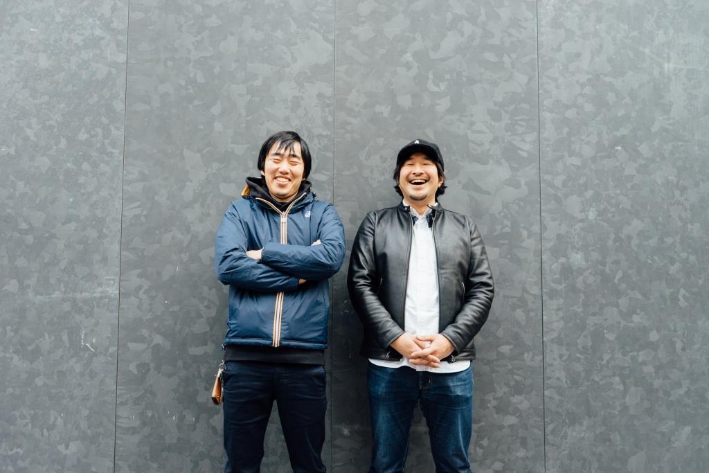 (左から)西槇太一、タイラダイスケ