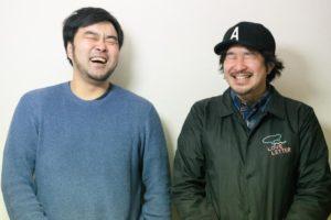 左から藤澤慎介(THISTIME RECORDS)、タイラダイスケ(FREE THROW)