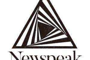 Newspeak、10月にリリースパーティーを開催&大阪、京都、名古屋ツアーを発表!新ロゴの公開も!