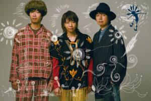 松崎ナオ率いるスリーピースバンド「鹿の一族」第2弾アルバム『P』が3月24日に発売決定!