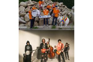 フジロックへの出演も発表されたMonaural mini plugとOLEDICKFOGGYの2マンイベントが8/25下北沢basementbarにて開催決定!