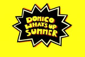 ドミコ、2019年の夏曲「WHAT'S UP SUMMER」、レコーディング映像をマッシュアップしたMV公開!