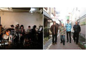 細馬宏通と澁谷浩次名義によるコラボ・アルバム『トマトジュース』も発表した、かえる目とyumboによる2マンライブが決定!