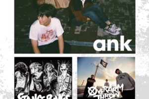 『ank spring 2019』にSTANCE PUNKS、OVER ARM THROW出演決定!