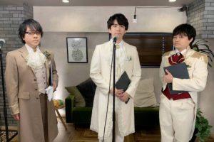 朗読バラエティ番組「速水奨&野津山幸宏の今日、何読む?」、9月配信回のゲストは伊東健人。高貴な王子や花婿姿で3人が朗読した内容が…。