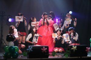 成田麻穂(燃えこれ学園)の生誕祭を開催。そこに広がっていたのはファンタジックで夢あふれる「まほまほの森」!!