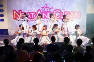 Neat and clean-ニトクリ-、デビュー2周年公演を元旦に開催。会場は、満員に!!