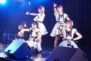 総勢12組が華やかに春の舞台を彩ったライブの中から、ニコニコ♡STAGE・BLUU・YUMEADO EUROPE・ルルネージュのライブの模様をレポート!!!!