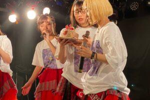 エモいライブを繰り広げた真志取みらいの生誕祭で、CHERRY GIRLS PROJECTの最終兵器 (新メンバー)を発表!!
