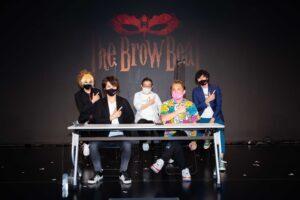 「間違いなく彼らはヴィジュアル系のシーンに旋風を巻き起こす存在になる」。The Brow Beatを支えるブレーンたちが集まり、「緊急YouTube 特番!なぜ今The Brow Beat なのか!?」を配信!!