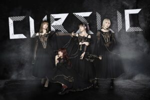 「漆黒の豪華ドレスを纏い、漆黒のシンフォニーを生み出せ。CUBΣLIC、「黒服限定LIVE」に向けた最新ビジュアル姿を公開!!!!