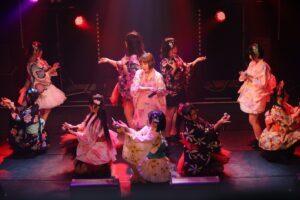 成田麻穂(燃えこれ学園)のソロ第二弾楽曲を発表。メンバーみんな浴衣姿になって、夏祭りを満喫!!